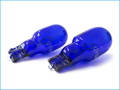 CARALL LX1208 Lámparas halógenas T15 W16W 12V 16W Reverse White Xenon Effect 4200K - 2 Piezas