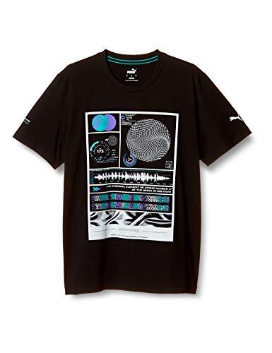 PUMA Mercedes Herren T-Shirt mit Grafik Puma Black S