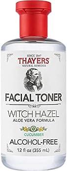 Thayers Alcohol-Free Cucumber Witch Hazel Facial Toner 12 oz