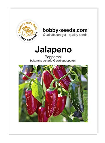 Jalapeno Chili-/Peperonisamen von Bobby-Seeds Portion