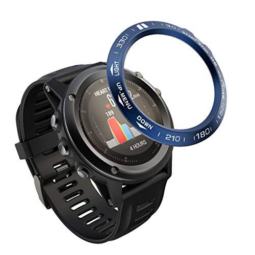 CLOOM Bezel Styling per Fenix 3/Fenix3 HR Bezel Ring Copertina AntiGraffio Protezione - [Stainless]