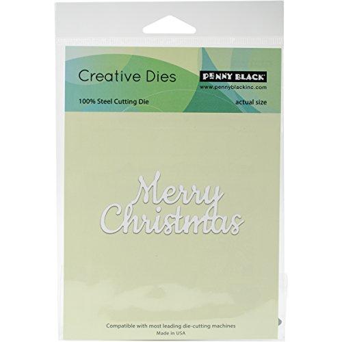Penny Black Creative Metal die, 51-248,Merry Christmas