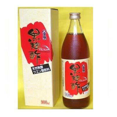 八重泉・黒麹酢(もろみ酢) 900ml入瓶×4