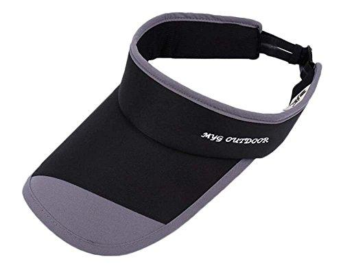 Black Temptation Sommer Sonnenschutz Cap Strand Sun Visor Hat