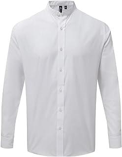 Premier Adults Unisex Long Sleeve Grandad Shirt