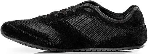 Magical Shoes Explorer Barfußschuhe | Damen | Herren | Jugendliche | Laufschuhe | Zero Drop | Flexibel | Rutschfest, Größen:38/243mm, Farbe:MS Explorer Classic - Schwarz