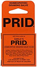 Smile's PRID Drawing Salve by Hyland's, Relief of Topical Pain and Skin Irritations, 18 Grams