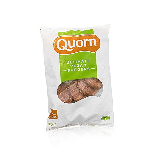 Quorn™ Ultimate Burger, vegan, Mycoprotein, TK, 2,04 kg, ca.18 St.