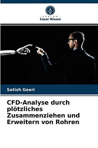 CFD-Analyse durch plötzliches Zusammenziehen und Erweitern von Rohren