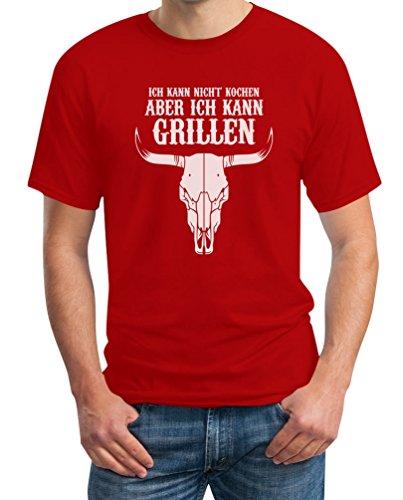 Grill BBQ shirt Ik kan niet koken maar grillen, T-shirt