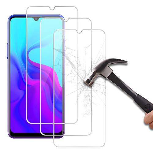 Reshias Protector de pantalla para Blackview A80 (3 unidades) transparente duro [antiarañazos] [alta sensibilidad] película de vidrio templado para Blackview A80 (6.21 pulgadas)