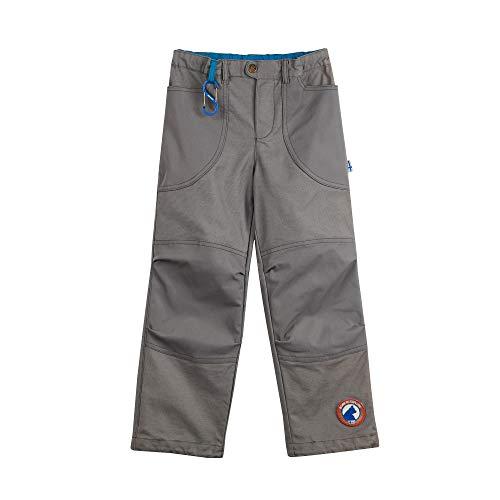 Finkid Kuu Husky Grau, Kinder Hose, Größe 140-150 - Farbe Charcoal