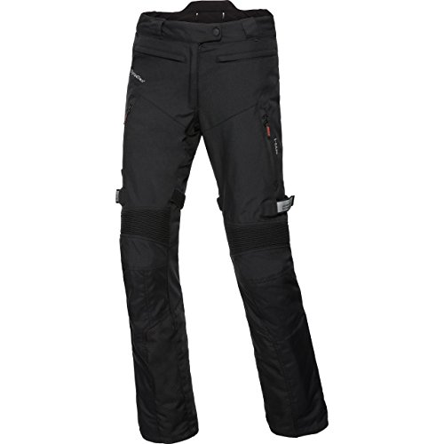 FLM Motorradhose Damen Reise Textilhose 1.0 schwarz XS, Enduro/Reiseenduro, Ganzjährig