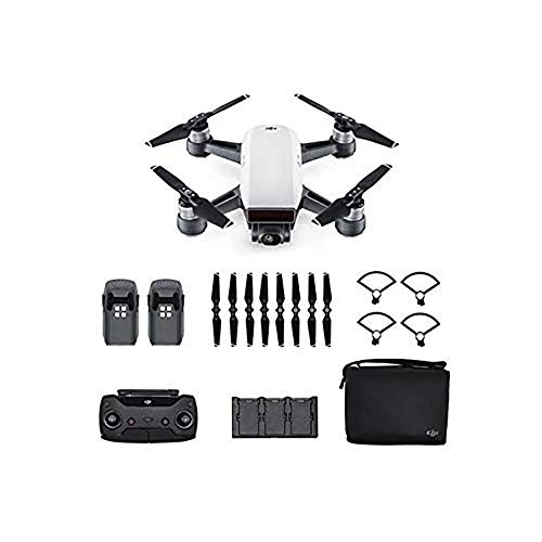 DJI Spark Fotocamera 12 MP I Video Full HD I Autonomia Di Volo 16...