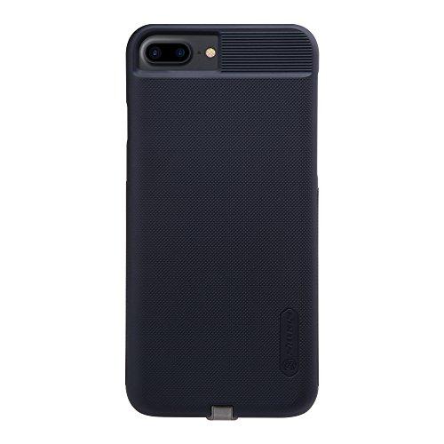 Nillkin iPhone 7 Plus Wireless Charging Cover, Magic Series Qi Drahtloser Ladegerät Schutzhülle Ladeempfänger Back Cover [Kompatibel mit Magnetic Wireless Auto Ladegerät] für iPhone 7 Plus