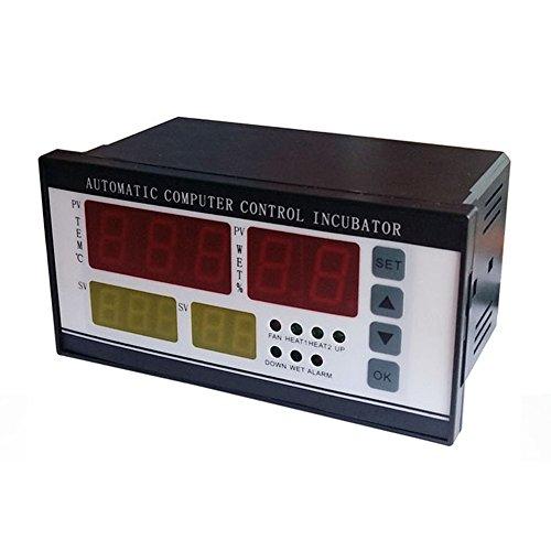 Controlador de incubadora de huevos XM-18 Termostato Higrostato Control completamente automático con sonda de sensor de temperatura y humedad, 220V, 110V (-10 ℃ - 60 ℃)