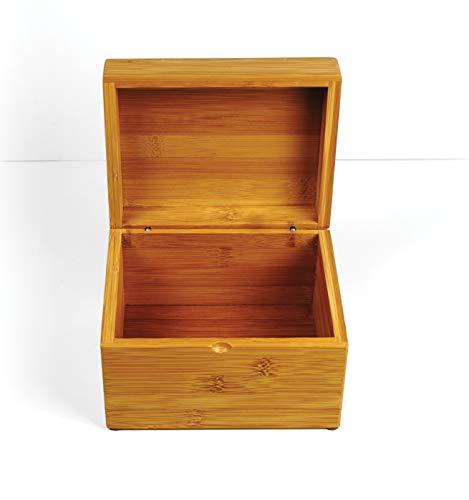 RSVP International (BOO-RB) Bamboo Recipe Box, 7