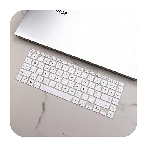 Para Asus VivoBook 14 X413FP X413FA X413F X413 FA FP F S14 X421FA X421IA X421 FA IA 2020 14 pulgadas Silicona teclado cubierta Protector-blanco