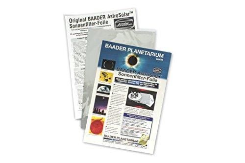 Baader Planetarium AstroSolar Sonnenfilter für visuelle Sonnenbeobachtung Format 20 x 29 cm