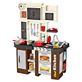 "Chefs Kitchen Playset, Delights Pretend Play Kitchen Sets for Kids Play Kitchen with ""Window""..."