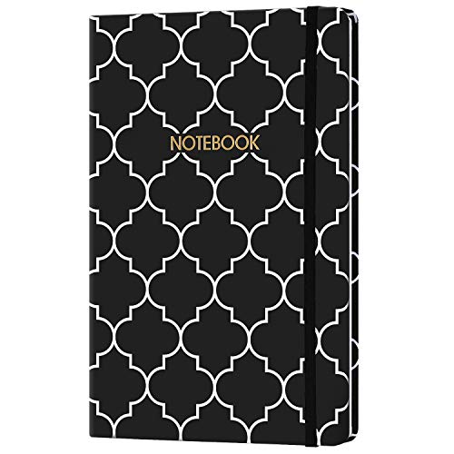 Ruled Notebook/Journal - Lined Journal, Hardcover Notebook with Premium Thick Paper, Banded with Exquisite Inner Pocket, 5.8
