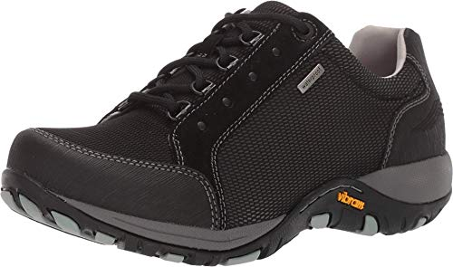 Dansko Women's Peggy Black Waterproof Outdoor Sneaker 10.5-11 M US