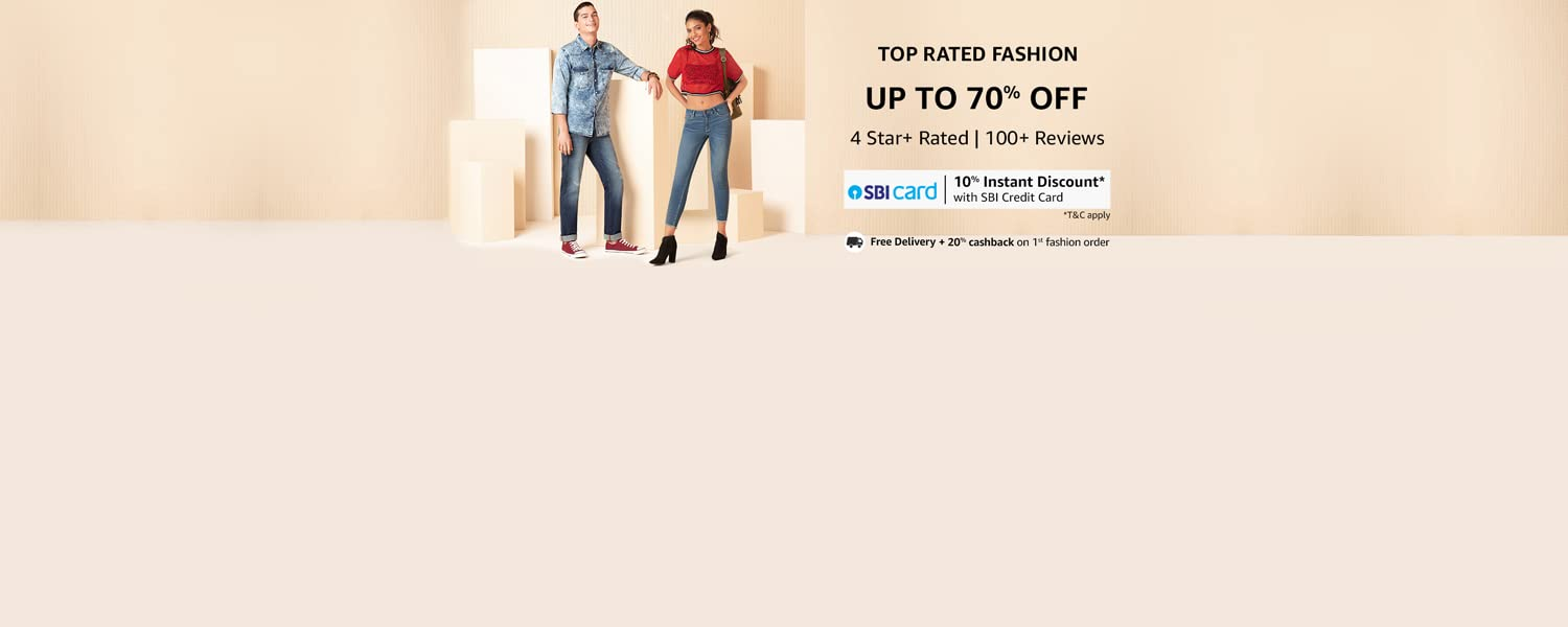 Amazon Offers Today-Coupons-Promo Codes - Up To 70% OFF on Fashion