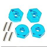 Dadi esagonali per ruote in lega di alluminio 4 pezzi con perni mozzi di azionamento 12mm ...