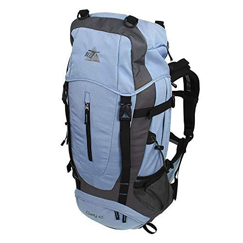 10T Outdoor Equipment Clarke 45 Sac marin, 65 cm, liters, Bleu (Blau / Grau)
