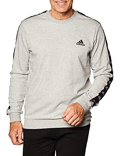 adidas Herren Sweatshirt E TPE Sweatshirt, Mgreyh/Black, S, GD5447