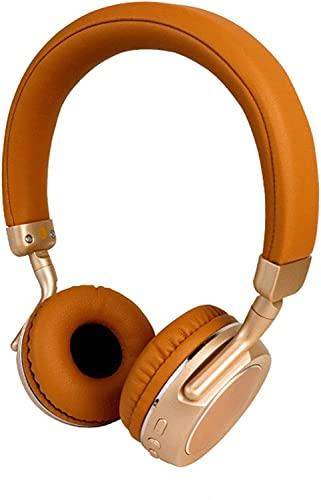 RCH Auriculares Bluetooth Auriculares inalámbricos Estéreo Deportes Bluetooth Auriculares Estilo Música negro (Marrón)