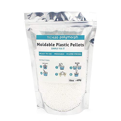 Moldable Plastic Thermoplastic Beads 15OZ