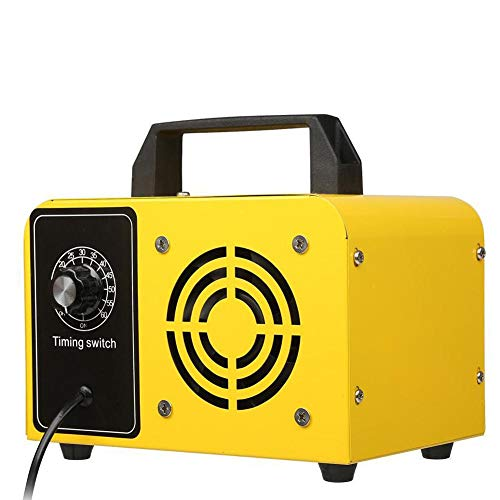 32 g h de ozono Comercial generador doméstico, industrial portátil Ozonizador, Ozono máquina, filtro de aire purificador de aire para el Olor control de la parada amarillo (enchufe de la UE)