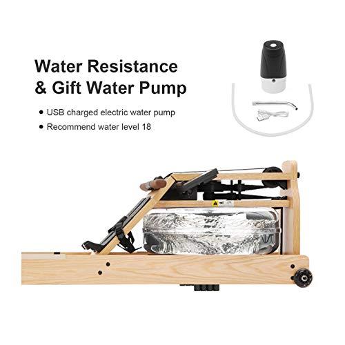 TOPIOM Wasser Rudergerät Wassertank