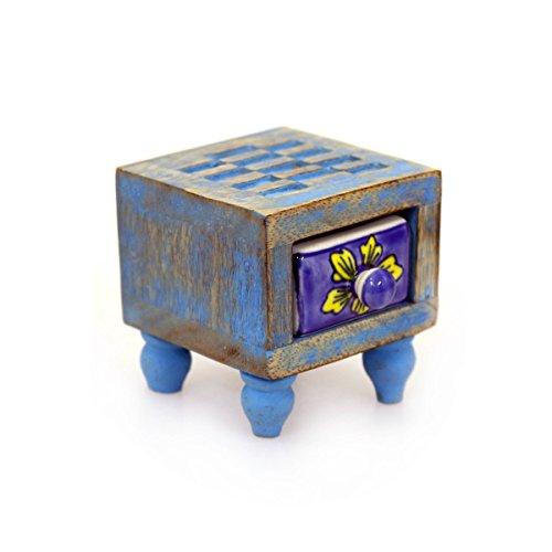 Cassettiera in Legno e Ceramica 33 cm Gall/&Zick 16 cassetti Altezza ca