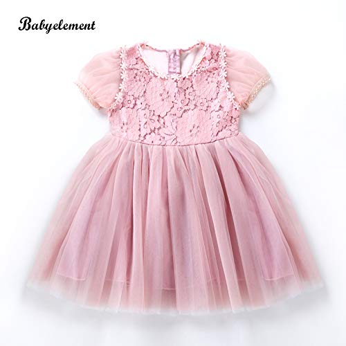 don997gfoh08yewi Meisjes jurk zomerjurk super buitenlandse baby kinderjurk kanten jurk klein meisje verjaardag jurk rokRubber poeder