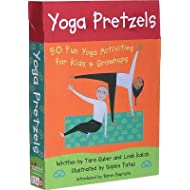 Yoga Pretzels( 50 Fun Yoga Activities for Kids & Grownups)[CD-YOGA PRETZELS-50PK][Loose Leaf]