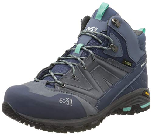 MILLET Women's High Rise Hiking Shoes, Grey Flint 8764