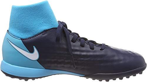 Nike Unisex-Kinder Magista X ONDA II DF TF JR 917782 Fußballschuhe, Blau (Obsidian/Gamma Blue/Glacier Blue/White 414), 36.5 EU