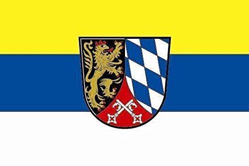 U24 Aufkleber Oberpfalz Flagge Fahne 8 x 5 cm Autoaufkleber Sticker