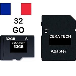 Qprods - Tarjeta Micro SD de 64 Gb Clase 10 U3, 35 Mb/s de ...