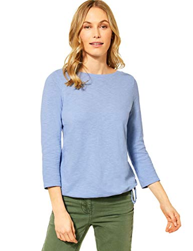 Cecil Damen 315928 T-Shirt, Quiet Blue, XXL