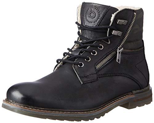 bugatti Herren 321A0U521000-1000 Mode-Stiefel, schwarz, 42 EU