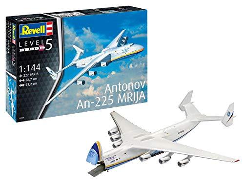 Revell 04958, Flugzeugmodellbausatz, 58,7 cm 14 Modellbausatz Antonov An-225 Mrija im Maßstab 1:144, Level 5, Multicolour