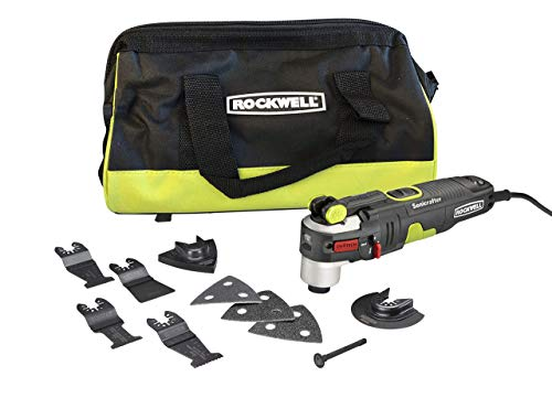 Review Rockwell AW400 Sonicrafter 4.2 Amp Oscillating Multi-Tool with 9 Accessories and Carry Bag (R...