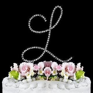 RENAISSANCE MONOGRAM WEDDING CAKE TOPPER LARGE LETTER L by Other