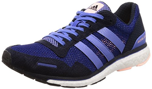 adidas Women's Adizero Adios 3 Trail Running Shoes, Multicolour (Tinmis/Tinley/Lilrea 000), 4 UK