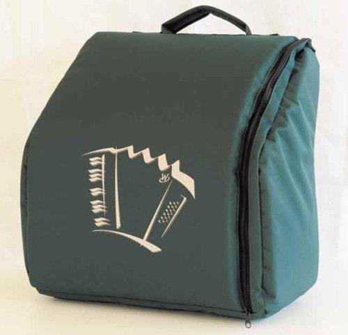 Rucksack für Pianoakkordeon 34/72 bis 34/80 Achat/Opal, Knopfakkordeon Romance 603,703, grün