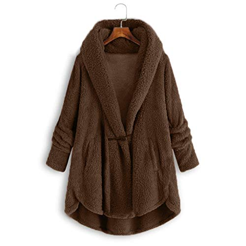 FIRSS Damen Winterjacke, Freizeit Outdoor Winterparka, Bequem Weich Windcoat, Casual Langarm Coat, Woman Sweatshirt Mantel, Atmungsaktiv Komfortable Winter Plüsch Jacke