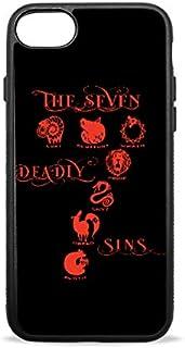iPhone7/8ケース Seven Deadly Sins七つの大罪 iPhone7/8plus携帯ケース TPU 耐衝撃 擦り傷防止 シリカゲル ソフトシェル 保護 スマホケース 薄型 軽量 for Apple iPhone 7/8 4.7